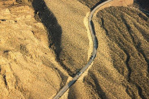Arizona, Road, Desert, Highway, Usa, Travel, America
