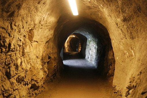 Tunnel, Alley, Hiking, Vouch Stock, Switzerland