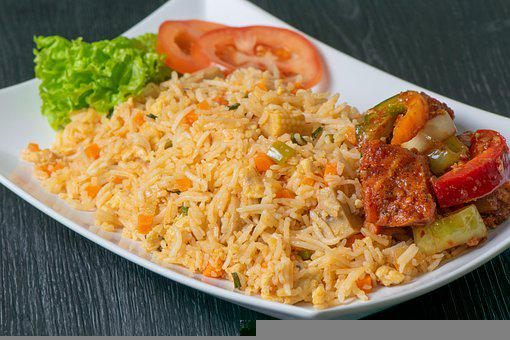Fried Rice, Food, Asian, Dish, Cuisine, Meal, Vegetable