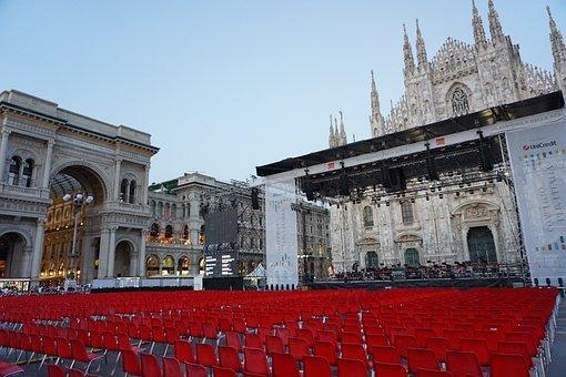 Event, Duomo, Milano, Chairs, Architecture, Church