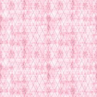 Pink, Rhombus, Checkered, Rhomboid, Diamond, Geometric