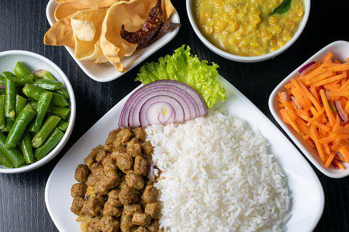 Rice, Food, Asian, Cuisine, Dish, Meal, Vegetables