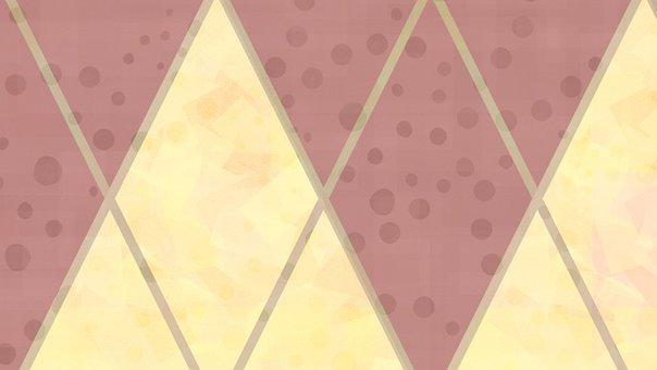 Rhombus, Checkered, Rhomboid, Diamond, Geometric