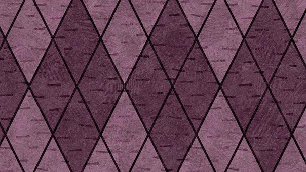 Purple, Rhombus, Checkered, Rhomboid, Diamond