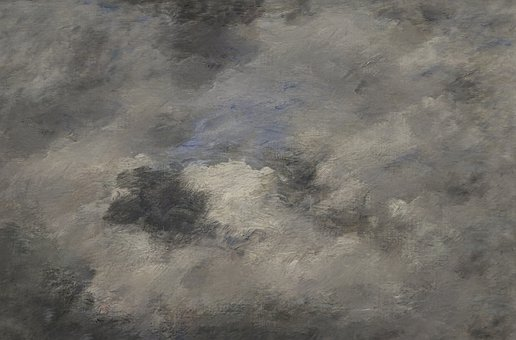 Storm, Clouds, Evening, Painting, Sky, Dark, Texture