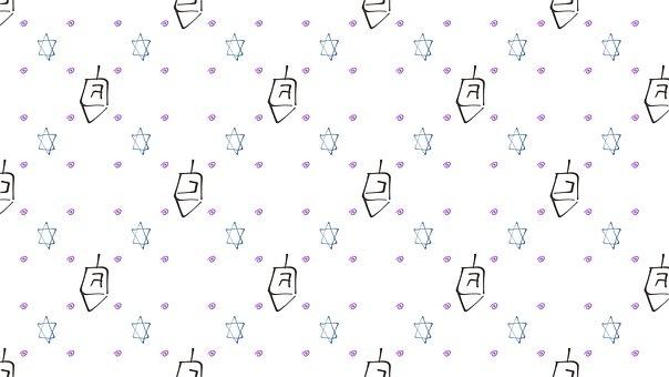 Candles, Hanukkah, The Holiday Of Lights, Star Of David