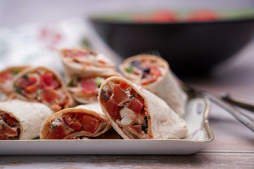 Wrap, Food, Dish, Cuisine, Tortilla, Vegetables