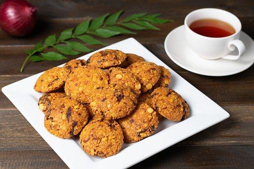 Parippu Vada, Fritters, Food, Dish, Cuisine, Dal Vada