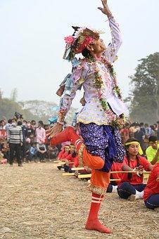 Girl, Dance, Movements, Dancer, Movement, Music