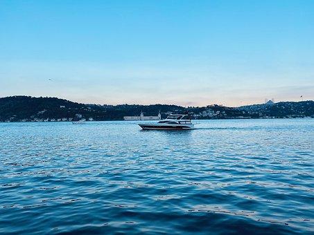 Marine, Boat, Landscape, Nature, Ocean, Ship, Water
