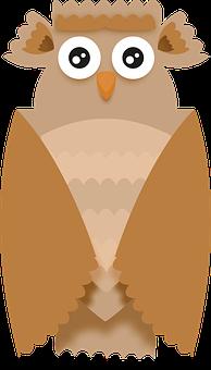 Owl, Eagle Owl, Bird, Wild, Forest, Animal, Nature