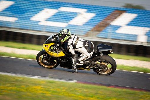 Motorcycle, Circuit, Speed, Racer, Racing, Fast, Hand