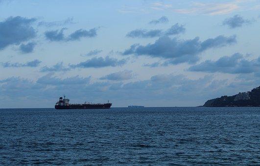 Boat, High Seas, Water, Sunset, Travel, Sailboat