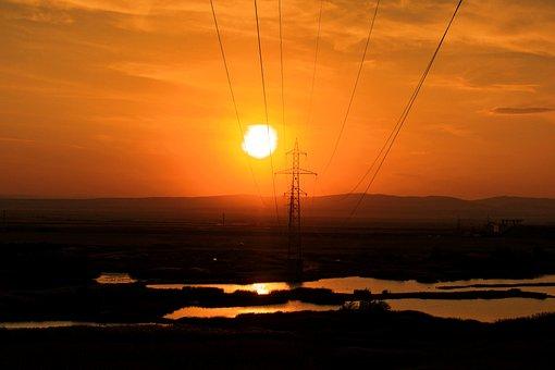 Sun, Sky, In The Evening