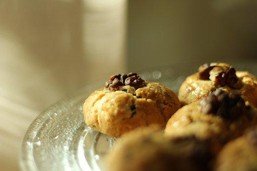 Cookies, Dessert, Food, Snack, Baked, Pastry, Delicious