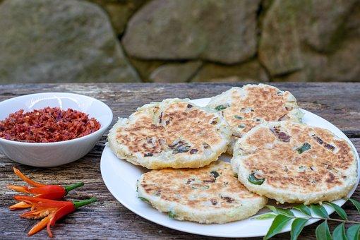Pol Roti, Food, Dish, Asian, Sri Lankan, Cuisine