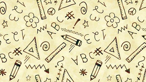 Abc, Alphabet, Literacy, Back To School, Wallpaper