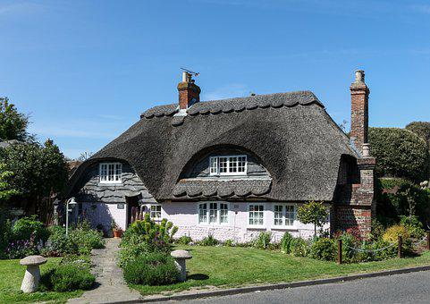 Cottage, Thatched, Old, Architecture, Thatch, Heritage