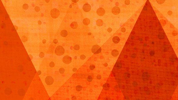 Orange, Abstract, Autumn, Autumnal, Wallpaper, Pattern