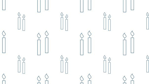 Candles, Candlelights, Wallpaper, Pattern, Background