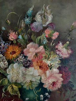 Flowers, Pictures, Paintings, Cake, Watercolor, Floral