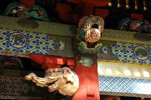 Japan, Nikko, Japanese, Sanctuary, Religion, Temple