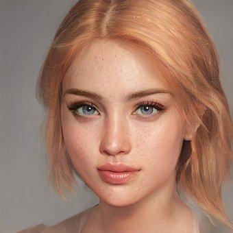Beauty, Woman, Face, Portrait, Hair, Female, Young