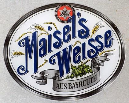 Beer, Shield, Advertising, Maisels, Advertising Sign