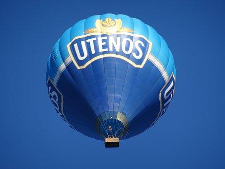 Air Balloon, Blue, Sky, Air, Balloon, Heat, Fly, Basket