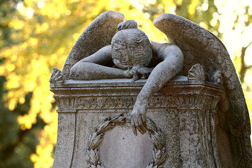 Angel, Headstone, Cemetery, Grave, Tombstone, Graveyard