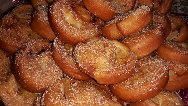 Pastries, Food, Fat Pastry, Cake, Particles, Sugar