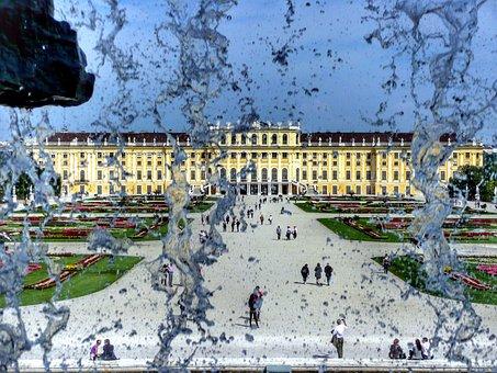 Schönbrunn Palace, Vienna, Austria, Castle, Schönbrunn