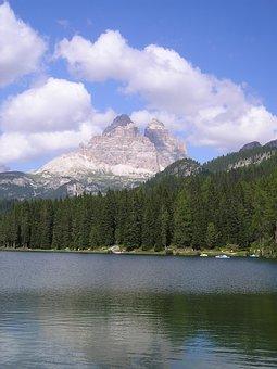 Three Zinnen, Lavaredo, Misurina, Belluno, Dolomites
