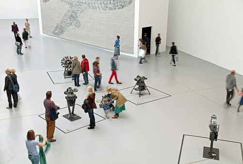 Human, Exhibition, Movement, Modern Art, Scene