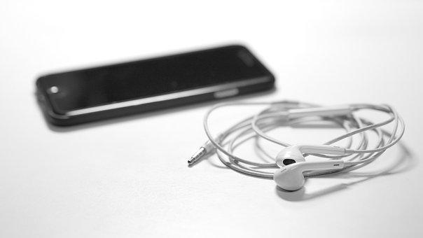 Listen To Music, Music Player, Iphone, Headphones
