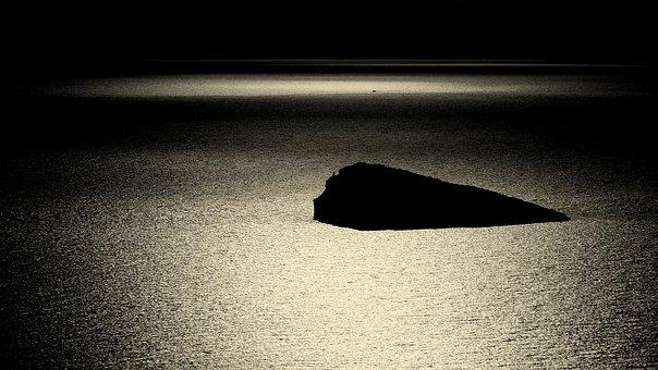 L'illa De Benidorm, Benidorm, Mediterranean, Sea