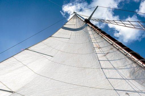 Main Sail, Sail Boat, Main Mast