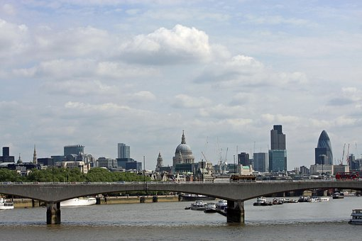 London, England, View, Monuments, Gherkin
