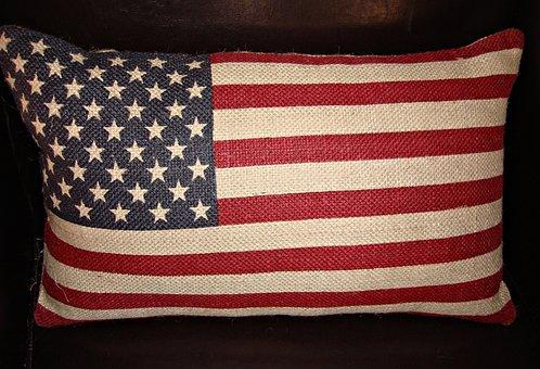 Flag, American Flag, American, Usa, National, Symbol