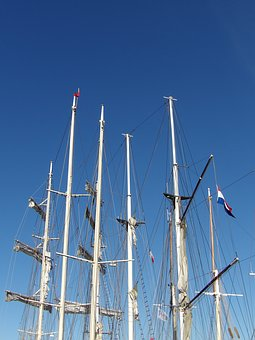 Mats, Sailboat, Traditions, Blue Sky, Navigation