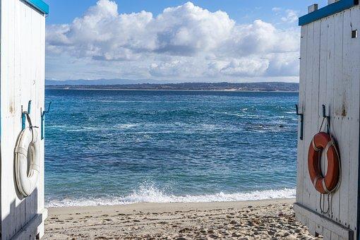 Monterey, Ocean, California, Norcal, Water, Pacific