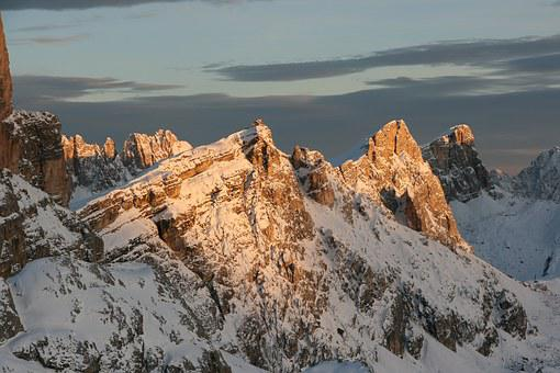 Dolomites, Nuvolau, Belluno, Passo Giau