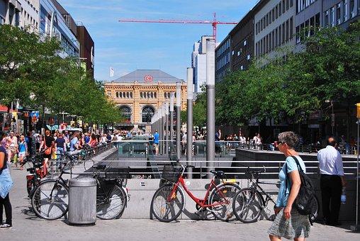 Transport, Architecture, Street, Pedestrians, People