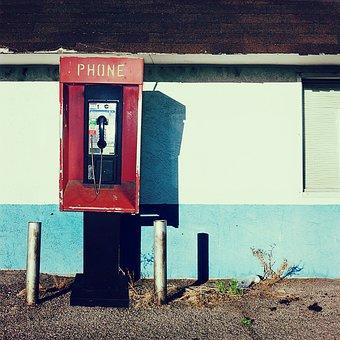 Telephone, Phone, Call, Talk, Pay Phone, Street, Urban