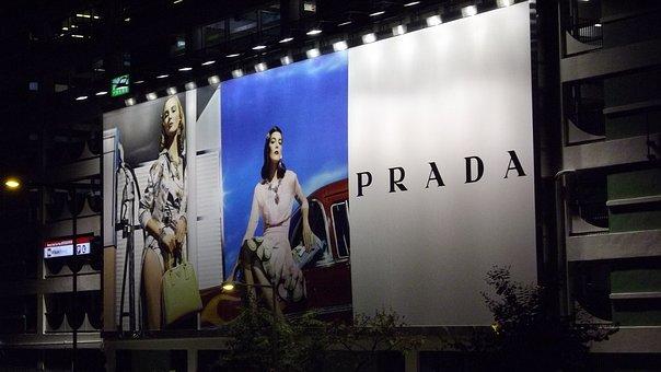Advertising, Prada, Billboard, Advertisement, Outdoor