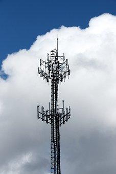 Radio Tower, Pylon, Radio, Transmission, Aerial