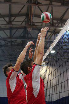 Volleyball, The Pitch, The Ball, Sport, Team