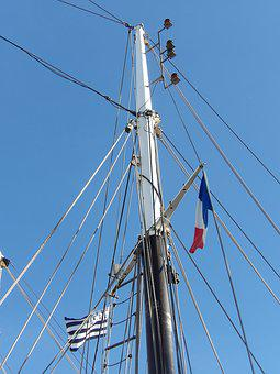 Mast, Sailboat, Traditions, Blue Sky, Navigation