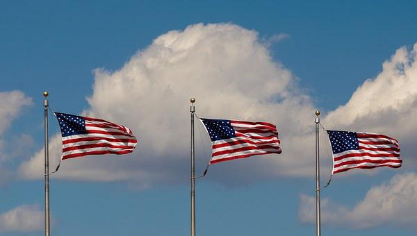 Usa, America, Flag, Us, Wind, Colors, American, Colours