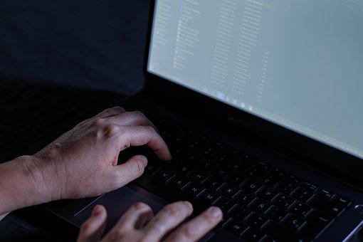 Laptop, Keyboard, Typing, Computer, Work, Online